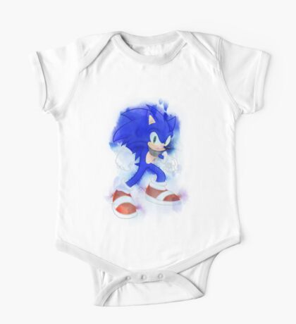 Sonic Watercolor One Piece - Short Sleeve