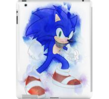 Sonic Watercolor iPad Case/Skin