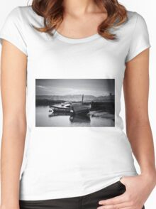 6AM Sunrise Women's Fitted Scoop T-Shirt