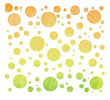 Pastel Polka Dots Photographic Print