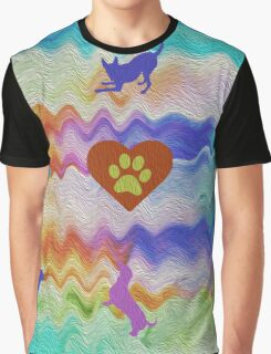 Love Dogs Graphic T-Shirt