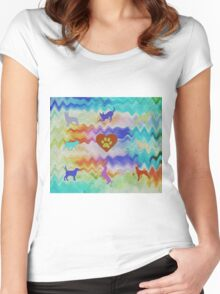 Love Dogs Women's Fitted Scoop T-Shirt
