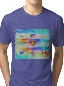 Love Dogs Tri-blend T-Shirt