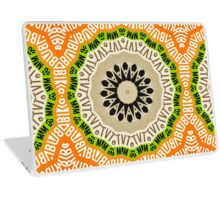 Abstract Alphabet Design 2 Laptop Skin