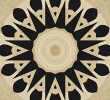 Abstract Alphabet Design 2 Sticker