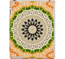 Abstract Alphabet Design 2 iPad Case/Skin