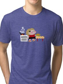 Mari Is Cooking Donuts Tri-blend T-Shirt