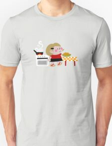 Mari Is Cooking Donuts Unisex T-Shirt