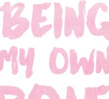 Mindy Kaling, Role Model Typography Sticker