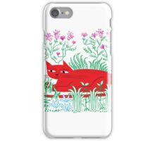 The Garden Cat iPhone Case/Skin