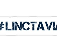 #LINCTAVIA (Navy Text) Sticker