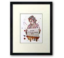 The Rocky Horror show - Riff Raff Framed Print