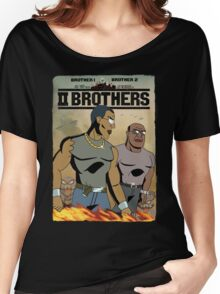 TWO BROTHERS!! - www.shirtdorks.com Women's Relaxed Fit T-Shirt