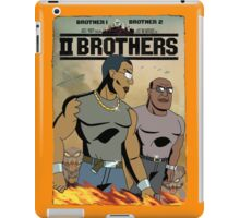 TWO BROTHERS!! iPad Case/Skin