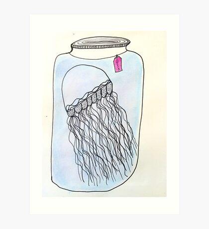 Jelly jar Art Print