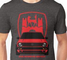 VW Golf GTI MK2 Wolfsburg Red Edition Unisex T-Shirt