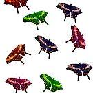 Butterflies by Michael Wolf