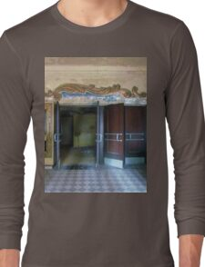Abandoned movie theater Long Sleeve T-Shirt