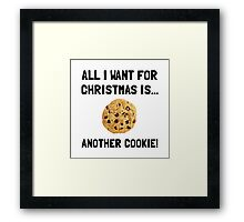 Christmas Cookie Framed Print