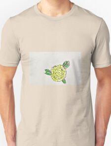 yellow poppy flower Unisex T-Shirt