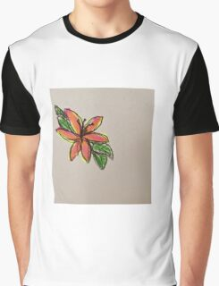 red hibiscus  Graphic T-Shirt