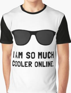 Cooler Online Graphic T-Shirt