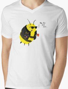 Festival Bees Mens V-Neck T-Shirt