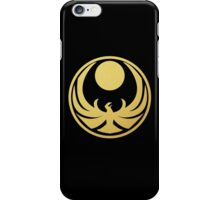 Nightingale (Gold) iPhone Case/Skin