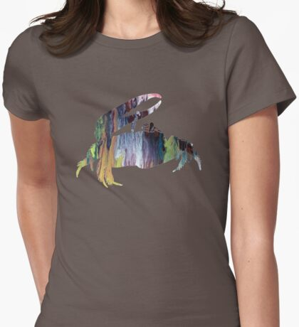 Fiddler Crab Womens Fitted T-Shirt