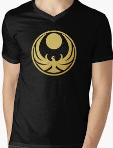 Nightingale (Gold) Mens V-Neck T-Shirt