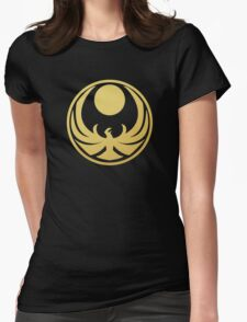 Nightingale (Gold) Womens Fitted T-Shirt