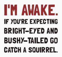Go Catch Squirrel Kids Tee