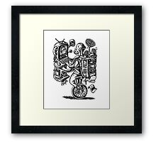 Combination Gizmo Machine Framed Print