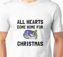 Hearts Come Home For Christmas Unisex T-Shirt