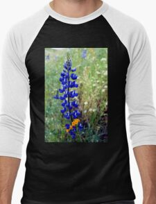 Spike Lupine Men's Baseball ¾ T-Shirt