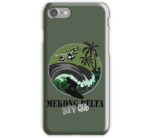 MEKONG DELTA SURF CLUB (ARMY ISSUE) iPhone Case/Skin