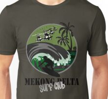 MEKONG DELTA SURF CLUB (ARMY ISSUE) Unisex T-Shirt