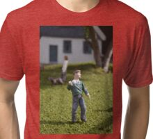 Miniature Man Tri-blend T-Shirt