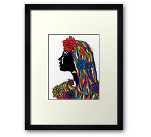 The Color Within Framed Print
