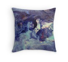 Abstract 367C Throw Pillow