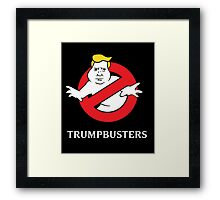 Trump Busters - Donald Trump Ghostbusters Framed Print
