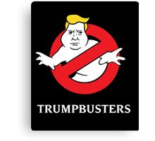 Trump Busters - Donald Trump Ghostbusters Canvas Print