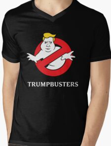 Trump Busters - Donald Trump Ghostbusters Mens V-Neck T-Shirt