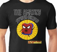 THE AMAZING SPIDER-BREAD *White Outline* by Notorious Gaming (I Am Bread) Unisex T-Shirt