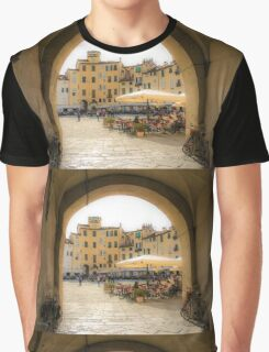 Piazza dell'Anfiteatro Graphic T-Shirt