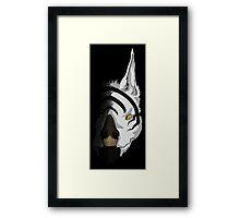 Kubrow--Lotus's Mark Framed Print