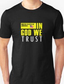In God We Trust Motto Unisex T-Shirt
