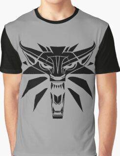 The Witcher - Wolf Medallion  Graphic T-Shirt