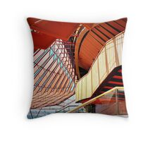 Opera House Interior Throw Pillow