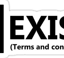 Terms and Conditions Sticker